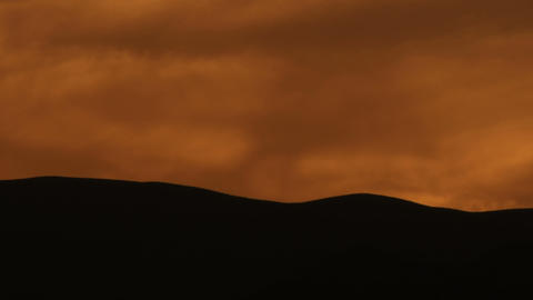 Royalty Free Stock Video Footage of a cloudy sunset shot in Israel at 4k with Re Footage