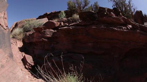 Rocky hillside Footage