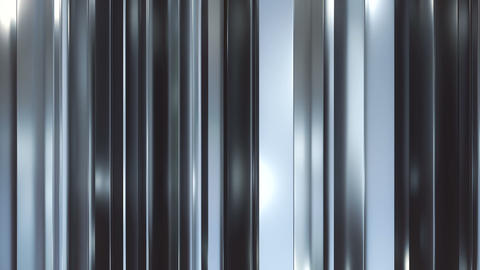 Vertical metal blades background loop CG動画素材