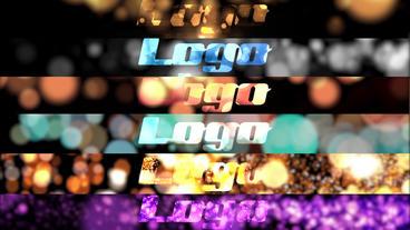 Gentle Bokeh Particle Logo Pack Premiere Pro Template