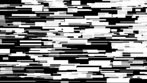 Glitch moving rectangles background loop Animation