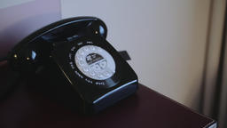 Black Stationary Home Phone Footage