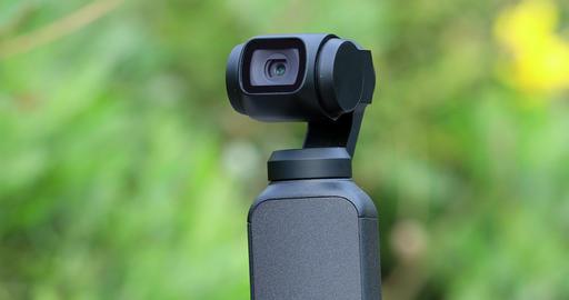 Small Gimbal Camera GIF