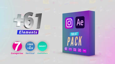Instagram Toolkit Pack 애프터 이펙트 템플릿