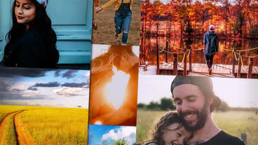 Multi Photo Logo (Pack) After Effects Template