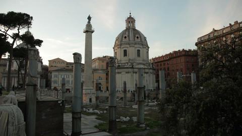 Santissimo Nome di Maria al Foro Traiano Footage