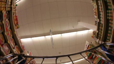 Supermarket Ceiling Footage