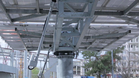 Tracking Solar Panel Equipment GIF
