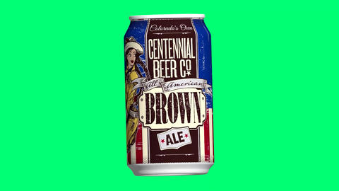 All-american brown, Colorado, Brown. Beer, ale, cbc centennial, all American Animation