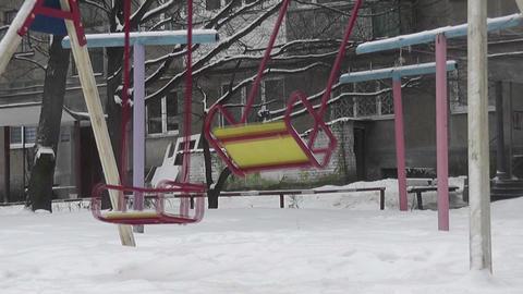 swing empty Stock Video Footage