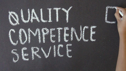 Quality, Competence, Service Footage