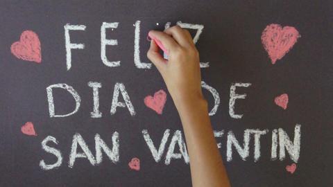 Happy Valentine's Day Stock Video Footage