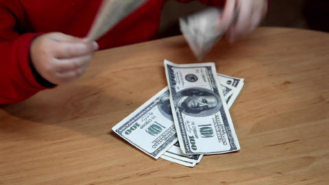 dollar bills Footage