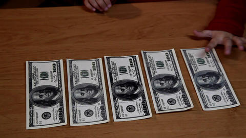dollar bills Stock Video Footage