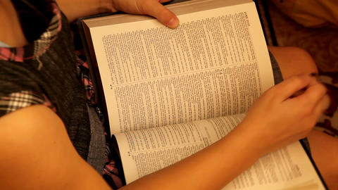 Bible Stock Video Footage