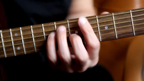 acoustic guitar Footage