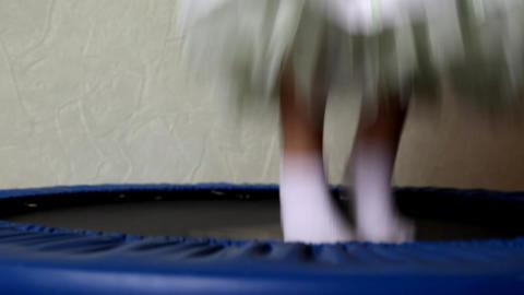 trampoline Stock Video Footage