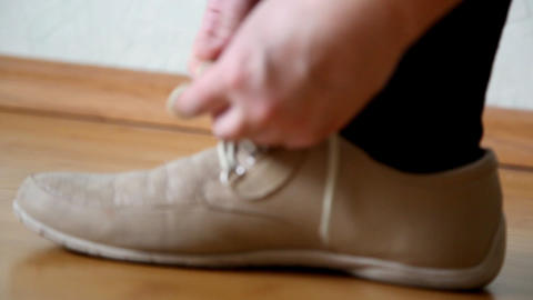 shoelaces Footage