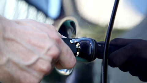 car key Stock Video Footage