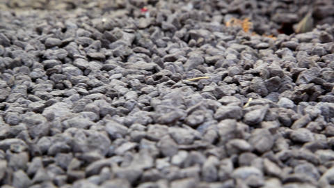 pile of gravel Footage