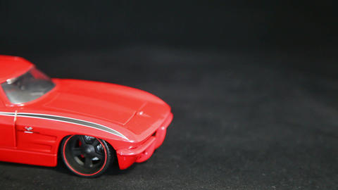 Red car Stock Video Footage