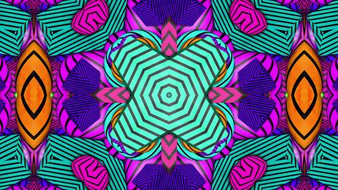 psychedelic kaleida Background Animation