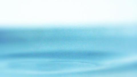 Waterdrop liquid ripple macro freshness water drop splash ripples splashing Footage