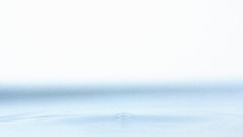 Waterdrop liquid ripple macro freshness water drop splash... Stock Video Footage