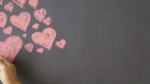 Heart Background Stock Video Footage