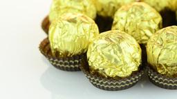 Chocolate bonbons Footage