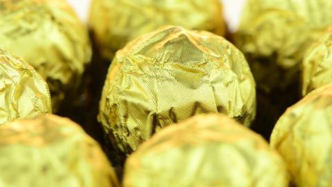Chocolate bonbons Stock Video Footage