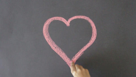 Valentines Day Heart Stock Video Footage