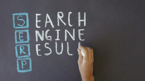 Search Engine Results Page Stock Video Footage