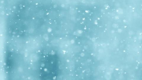 Beautiful snowfall 3 Stock Video Footage