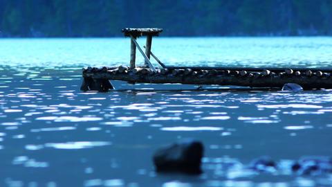 Mountain lake Stock Video Footage
