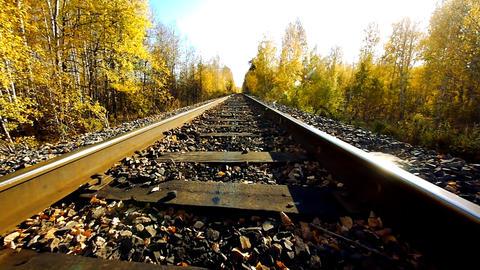 Old railroad 3 Footage