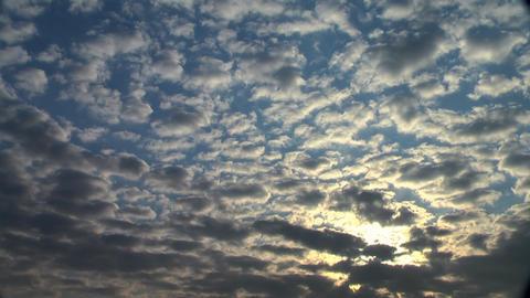 Sunrise clouds 2 Footage