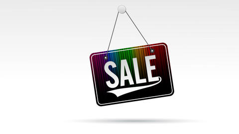 Sale Store Sign Animation