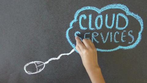 Cloud Services Footage
