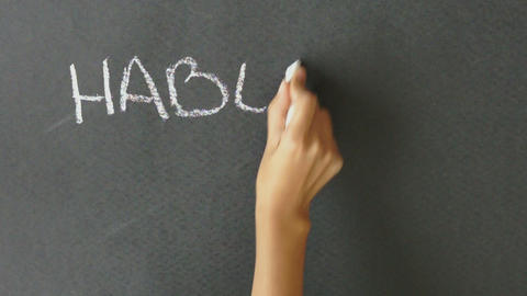 Do you speak Spanish? Stock Video Footage