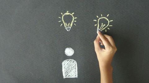 Many Ideas Stock Video Footage