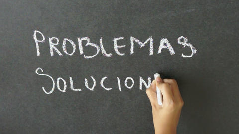 Problems and Solutions Stock Video Footage