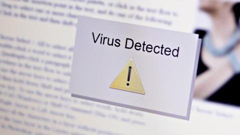 Computer Virus Stock Video Footage
