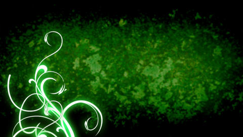 Floral background, Loop Animation Stock Video Footage