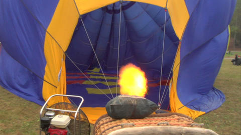 Hot-air Balloon 11 stock footage