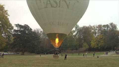 hot-air balloon 21 Footage