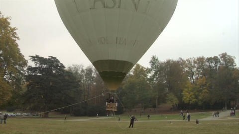 hot-air balloon 21 Stock Video Footage