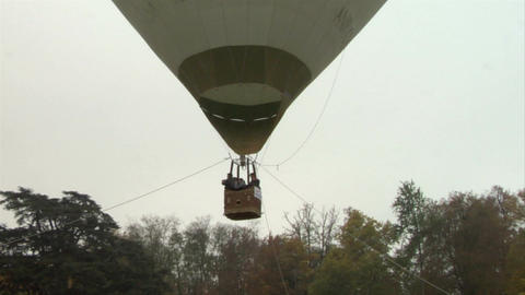 hot-air balloon 25 Stock Video Footage