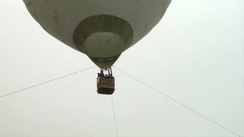 hot-air balloon 25 Stock Video Footage