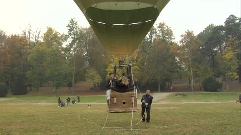 hot-air balloon 27 Stock Video Footage